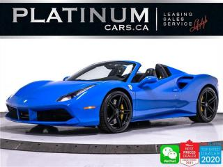 Used 2018 Ferrari 488 Spider 661HP, CARBON INT., SPORT EXHAUST, CAM, NAV, BT for sale in Toronto, ON