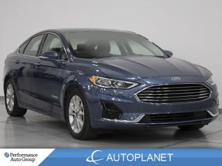 Used 2019 Ford Fusion Hybrid SEL, Navi, Sunroof, Remote Start, New Tires! for sale in Brampton, ON