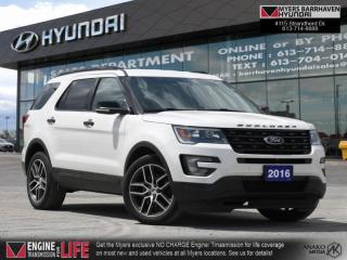 Used 2016 Ford Explorer Sport  - Leather Seats -  Navigation - $229 B/W for sale in Nepean, ON