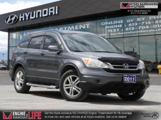 Used 2011 Honda CR-V EX-L  - Leather Seats -  Sunroof - $322 B/W for sale in Nepean, ON