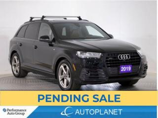 Used 2019 Audi Q7 Quattro, Technik,S-Line, 7 Seater, BLK Optics Pkg! for sale in Brampton, ON