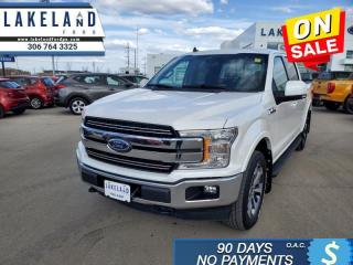 Used 2019 Ford F-150 Lariat   - Navigation - Sunroof - $396 B/W for sale in Prince Albert, SK