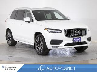 Used 2020 Volvo XC90 T6 AWD Momentum, 7-Seater, Navi, 360 Cam,New Tires for sale in Brampton, ON