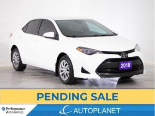 Used 2018 Toyota Corolla LE, Back Up Cam, Heated Seats, Clean Carfax! for sale in Brampton, ON