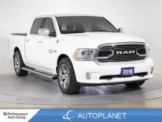 Used 2018 RAM 1500 Laramie Limited 4x4,Crew Cab, HEMI, Navi, Sunroof! for sale in Brampton, ON
