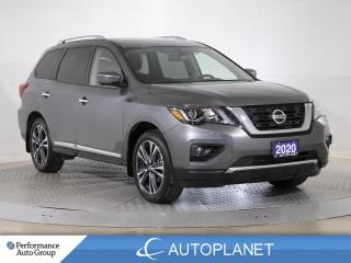 Used 2020 Nissan Pathfinder Platinum AWD, 7-Seater, 3D Navi, Bose Sound, DVD! for sale in Brampton, ON