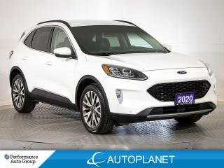 Used 2020 Ford Escape Titanium AWD, Hybrid, Navi, Remote Start, Sync 3! for sale in Brampton, ON