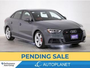 Used 2017 Audi S3 Quattro, Progressiv, Navi, New Rear Brakes! for sale in Brampton, ON