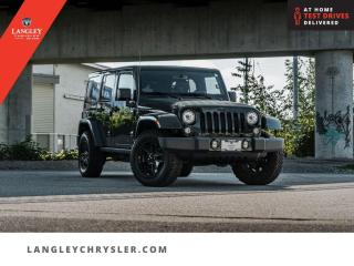 Used 2018 Jeep Wrangler Unlimited Sahara  Navi/ Leather/ Bluetooth/ Low Km/ Single Owner for sale in Surrey, BC