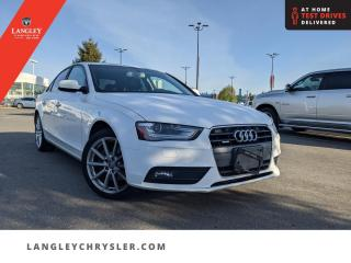 Used 2014 Audi A4 PROGRESSIV  Accident Free/ Locally Driven/ Leather/ Sunroof for sale in Surrey, BC