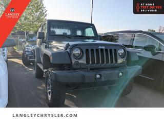 Used 2017 Jeep Wrangler Sport  Lift Kit/ Upgraded Tires/ Accident Free/ Low KM for sale in Surrey, BC
