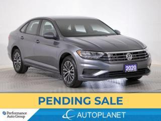 Used 2020 Volkswagen Jetta Comfortline, Heated Seats, Android Auto, Keyless! for sale in Brampton, ON