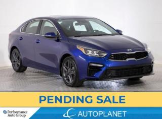 Used 2021 Kia Forte EX+, Sunroof, Blind Spot Assist, Wireless Charging for sale in Brampton, ON