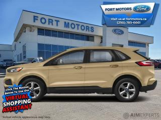 New 2021 Ford Edge Titanium  - Leather Seats -  Heated Seats - $354 B/W for sale in Fort St John, BC