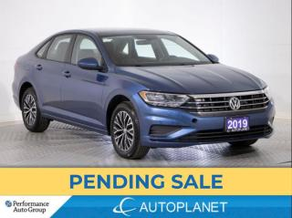 Used 2019 Volkswagen Jetta Highline, Sunroof, Blind Spot Assist, Android Auto for sale in Brampton, ON