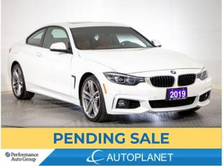 Used 2019 BMW 4 Series 440i xDrive, Turbo, Coupe, Navi, Sunroof, M-Alloys for sale in Brampton, ON