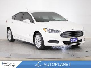 Used 2016 Ford Fusion SE Hybrid, Navi,Back Up Cam w/Rear Parking Sensor! for sale in Brampton, ON