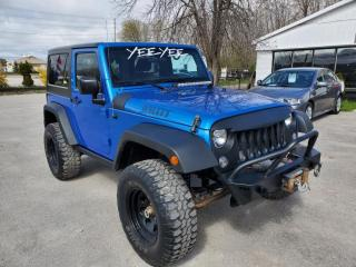 Used 2015 Jeep Wrangler SPORT for sale in Barrie, ON