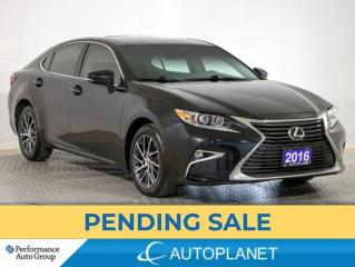 Used 2016 Lexus ES 350 Navi, Sunroof, Cooled Seats, Blind Spot Assist! for sale in Brampton, ON