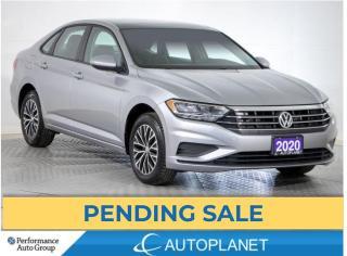 Used 2020 Volkswagen Jetta Highline, Sunroof, Blind Spot Assist, Leatherette! for sale in Brampton, ON