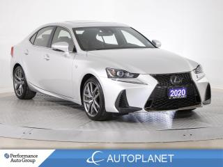 Used 2020 Lexus IS 300 AWD, F-Sport 2, Aero Pkg, Navi, Red Interior! for sale in Brampton, ON