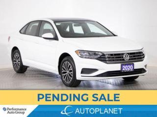 Used 2020 Volkswagen Jetta Highline, Apple CarPlay, Sunroof, Leatherette! for sale in Brampton, ON