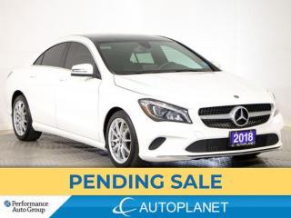 Used 2018 Mercedes-Benz CLA-Class CLA250 4MATIC, Premium Pkg, Navi, Back Up Cam! for sale in Brampton, ON