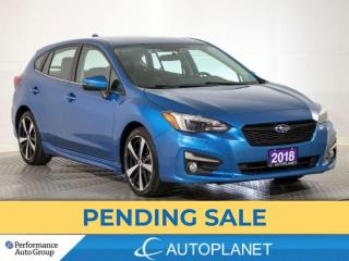 Used 2018 Subaru Impreza Sport-Tech AWD, Navi, Sunroof, New Rear Brakes! for sale in Brampton, ON