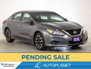 Used 2018 Nissan Altima SV, Back Up Cam, Sunroof, Heated Seats, Bluetooth! for sale in Brampton, ON