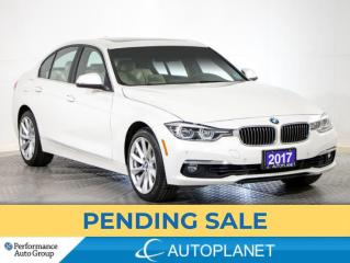 Used 2017 BMW 3 Series 330i xDrive, Navi, Sunroof, Back Up Cam,New Brakes for sale in Brampton, ON