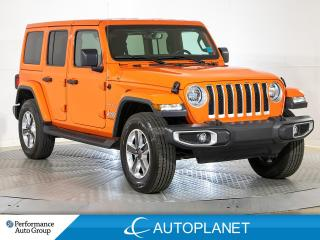 Used 2020 Jeep Wrangler Unlimited Sahara 4x4, Hard Top, Navi, Alpine Sound Sys! for sale in Brampton, ON