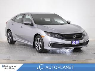 Used 2019 Honda Civic LX, Back Up Cam, Adaptive Cruise Control,Bluetooth for sale in Brampton, ON