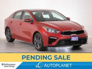 Used 2021 Kia Forte EX+, Sunroof, Android Auto, Wireless Charging! for sale in Brampton, ON