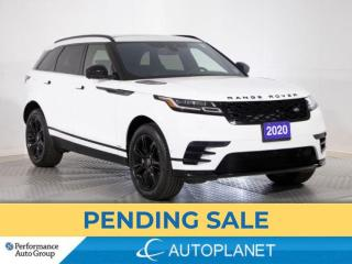 Used 2020 Land Rover Range Rover Velar P340 S R-Dynamic AWD, Navi, 360 Cam, Pano Roof! for sale in Brampton, ON