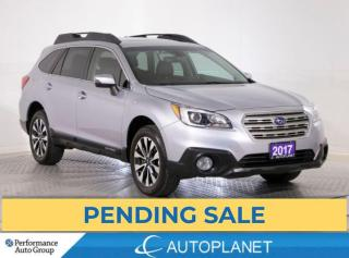 Used 2017 Subaru Outback Limited AWD, Tech Pkg, Navi, Back Up Cam, Sunroof! for sale in Clarington, ON