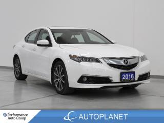 Used 2016 Acura TLX AWD, Elite, Heads Up Display, Navi, Sunroof! for sale in Clarington, ON