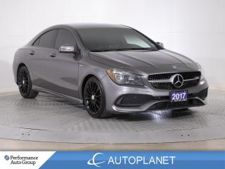 Used 2017 Mercedes-Benz CLA-Class CLA250 4MATIC, Navi, New Tires/Brakes! for sale in Clarington, ON