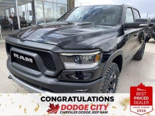 New 2021 RAM 1500 Rebel-4WD,V8,Remote Start, Leather, Htd Seats/Wheel for sale in Saskatoon, SK