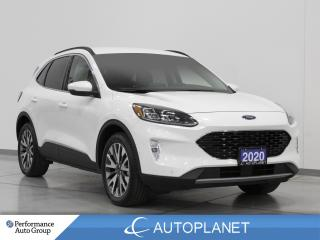 Used 2020 Ford Escape Titanium AWD, Hybrid, Navi, Wireless Charging! for sale in Clarington, ON