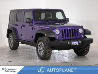 Used 2018 Jeep Wrangler JK Unlimited Rubicon 4x4, Cold Weather Grp, Navi, Remote Start! for sale in Clarington, ON