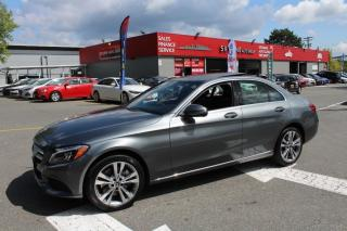 Used 2017 Mercedes-Benz C-Class C 300 4MATIC Sedan with Luxury Pkg for sale in Surrey, BC