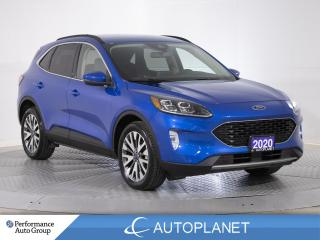 Used 2020 Ford Escape Titanium AWD, Hybrid, Navi, Select Drive Modes! for sale in Clarington, ON