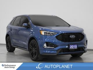 Used 2019 Ford Edge ST AWD, Navi, Pano Roof, Cooled Seats, 335 HP! for sale in Clarington, ON