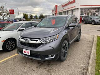 Used 2017 Honda CR-V Touring for sale in Waterloo, ON