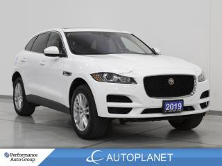 Used 2019 Jaguar F-PACE 25t AWD, Prestige, Navi, Pano Roof, Memory Seats! for sale in Clarington, ON
