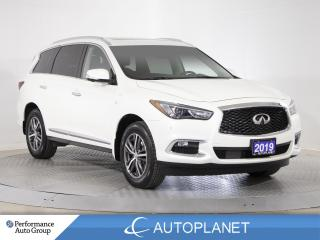 Used 2019 Infiniti QX60 Pure AWD, 7-Seater, Navi, 360 Cam, Memory Seat! for sale in Clarington, ON