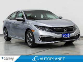 Used 2019 Honda Civic LX, Apple CarPlay, Lane Keep Assist, Back Up Cam! for sale in Clarington, ON