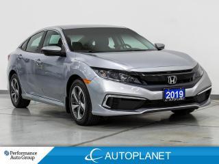Used 2019 Honda Civic LX, Apple CarPlay, Lane Keep Assist, Back Up Cam! for sale in Clarington, ON