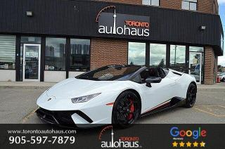 Used 2018 Lamborghini Huracan Performante Spyder for sale in Concord, ON