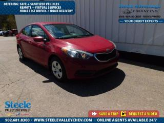 Used 2015 Kia Forte LX-AUTO-FRESH MVI - ONLY $104 B/W for sale in Kentville, NS